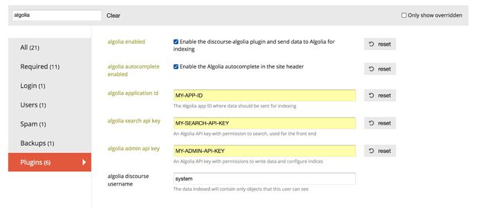 Add Algolia search to your Discourse - plugin - Discourse Meta