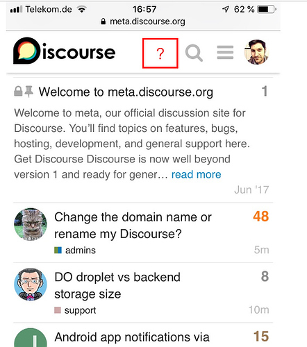 Back button in iOS PWA - support - Discourse Meta