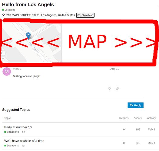 map discourse