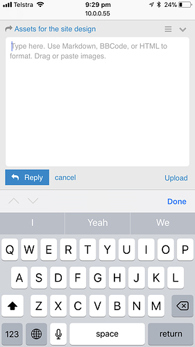 Guessing the keyboard height on iOS - ux - Discourse Meta