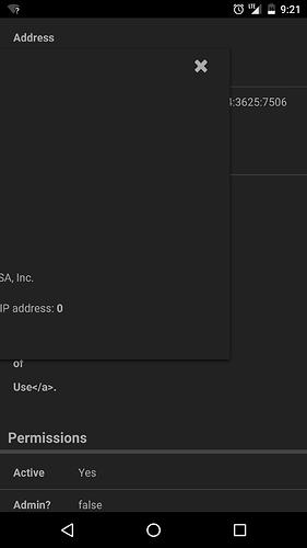 IP Lookup info not viewable in mobile - bug - Discourse Meta