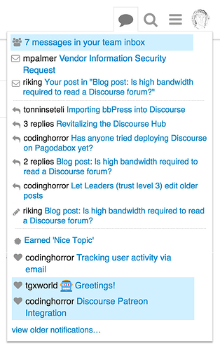 Structured notifications tab - ux - Discourse Meta