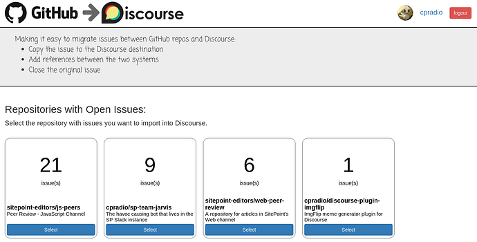 Introducing GitHub Issues to Discourse - extras - Discourse Meta