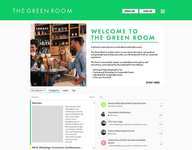270320 Designer take on the Green Room