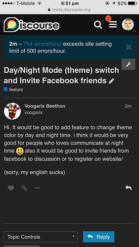 Automatic Day/Night Mode (theme) switch when it is actually
