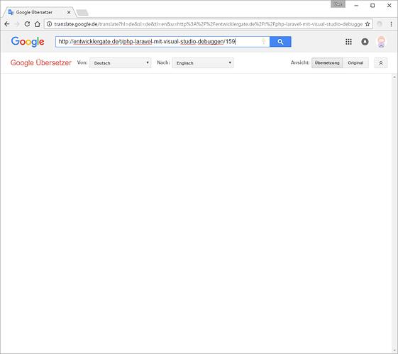 Google Translate shows