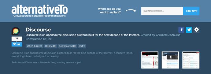Add your vote & review - praise - Discourse Meta