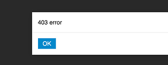 403-error