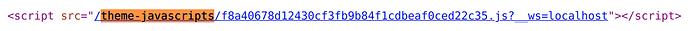 theme javascript file