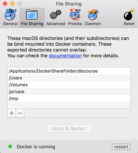 Running Discourse on Docker for Mac - dev - Discourse Meta