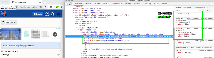 DevTools_-tappara_co_latest_and_AdSense_Responsive_Ads-howto___admins-_Discourse_Meta
