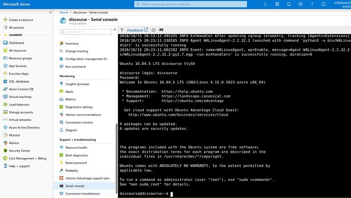 How to setup Discourse on Azure - sysadmin - Discourse Meta
