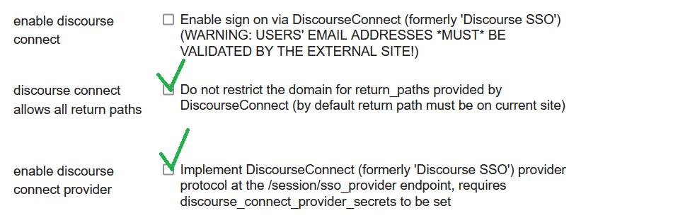 discourse connect provider