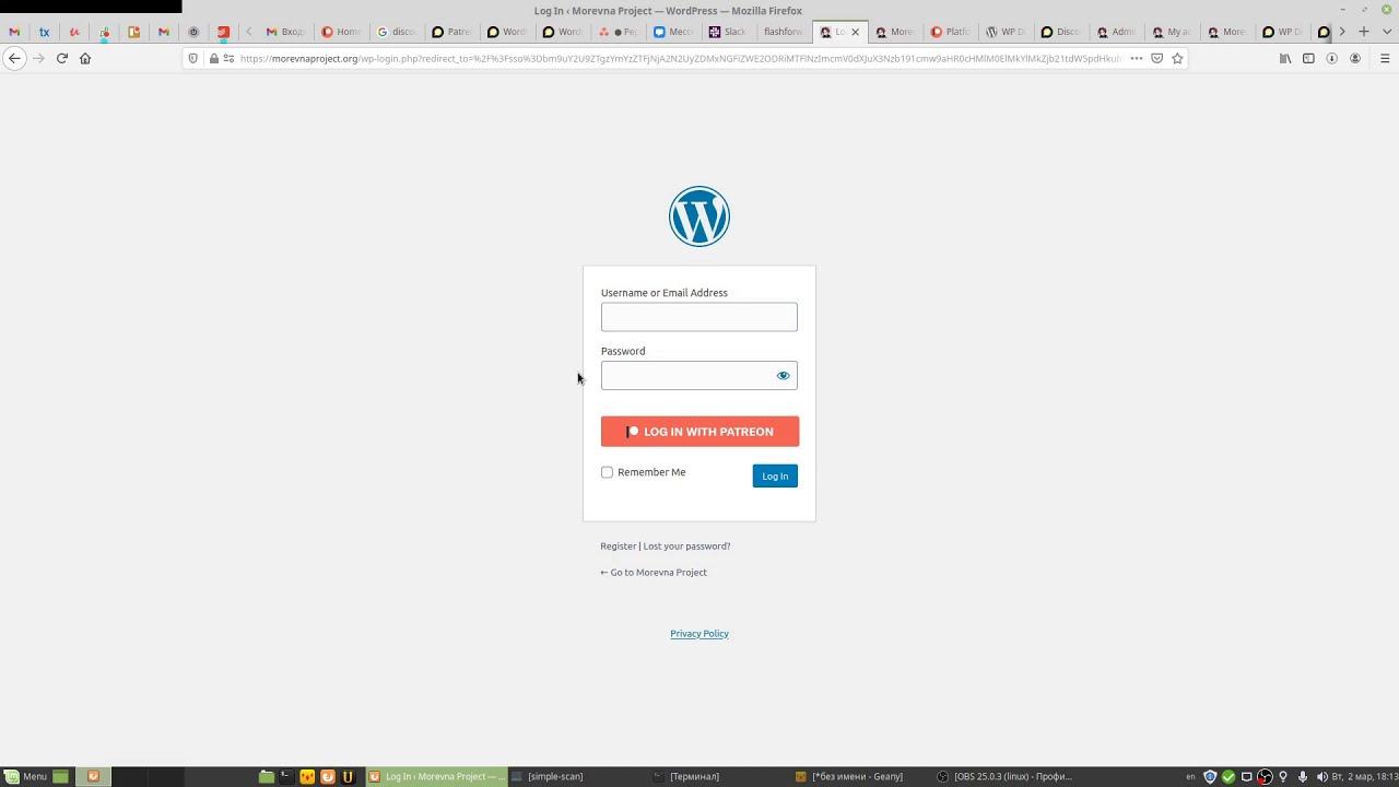Wordpress SSO AND Patreon Login   wordpress   Discourse Meta