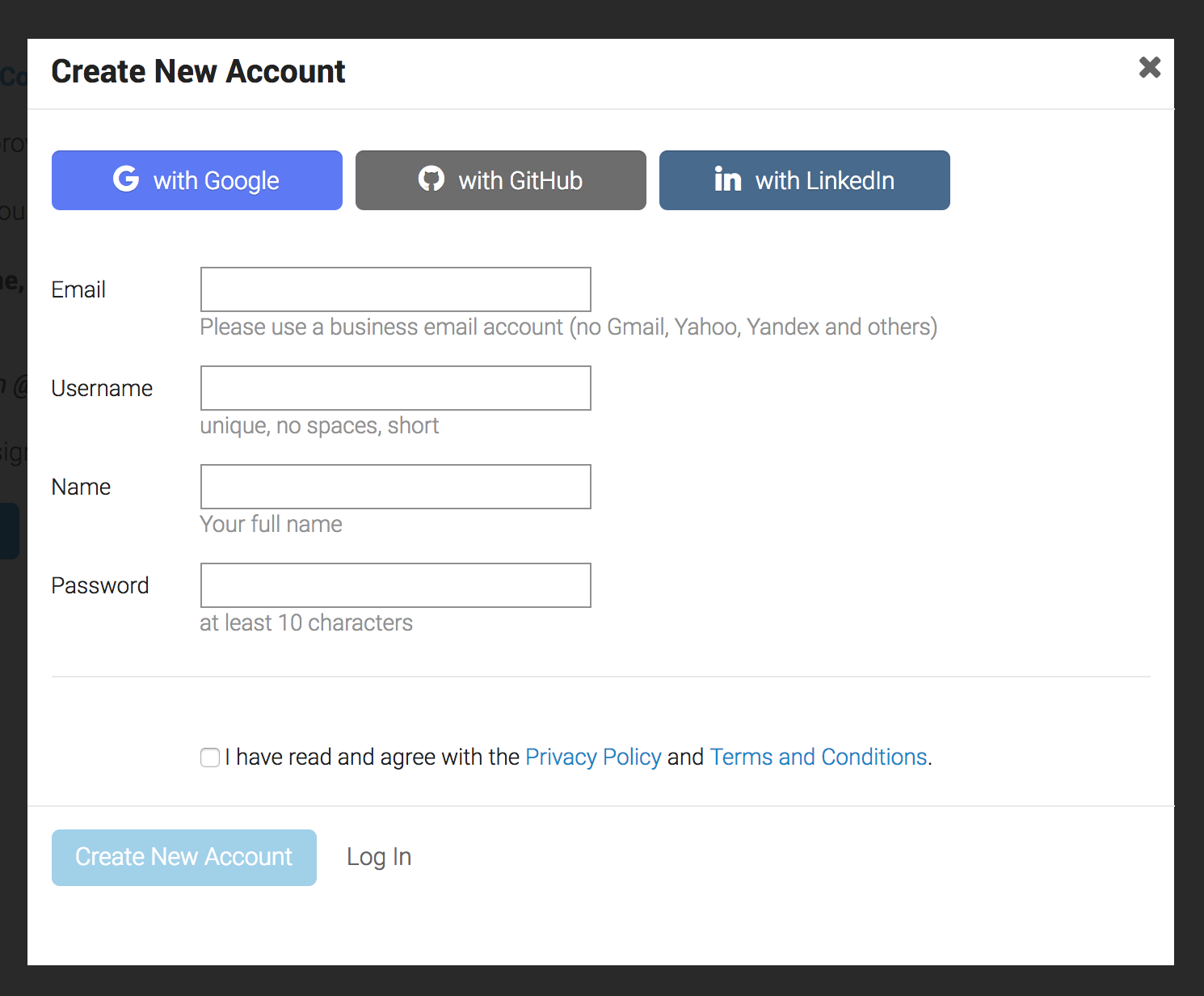 OAuth signup results in blank screen - support - Discourse Meta