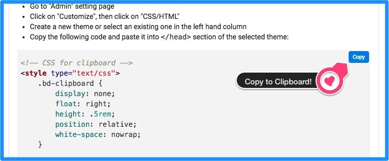 COPY option for code blocks in Discourse - theme - Discourse Meta