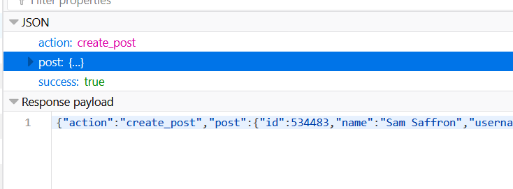 Calling POST on /posts json returns null - dev - Discourse Meta