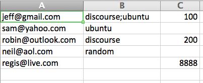 Sending Bulk User Invites - admins - Discourse Meta