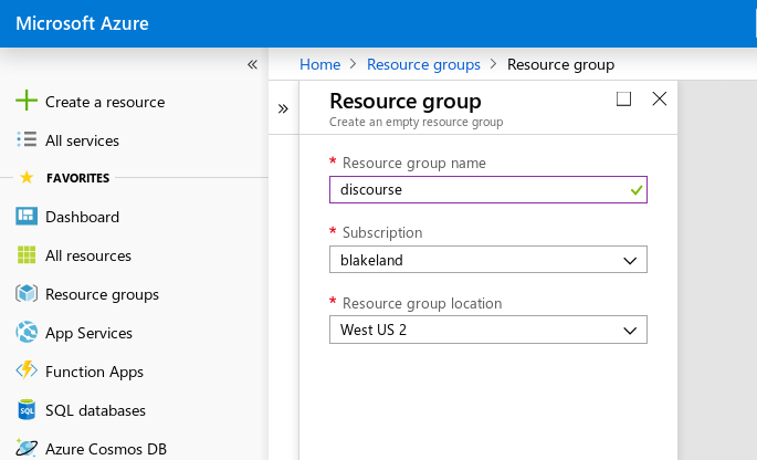 How to setup Discourse on Azure - sysadmin - Discourse Meta