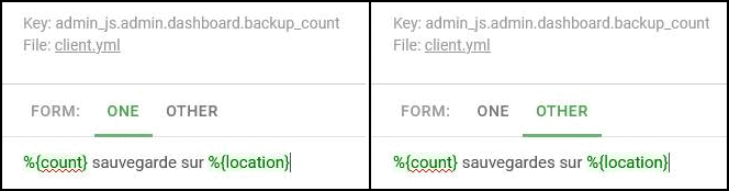 Crowdin Plural Form UI Example