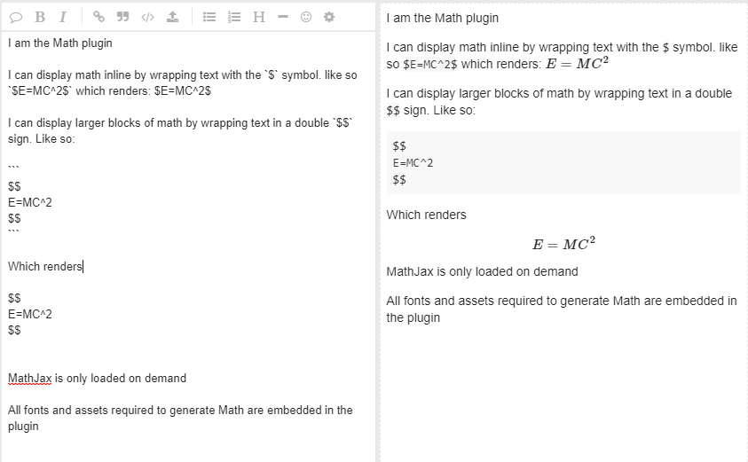 Discourse Math Plugin - plugin - Discourse Meta