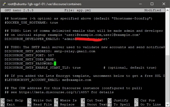 How to setup relay smtp from google on discourse - support